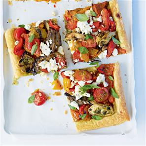 Antipasti tart recipe